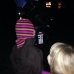 Stort teleskop - store forventninger. Fotograf: Lea Kristiansen