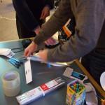 Værktøj og materialer til spektrografer