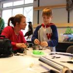Mor og søn i gang med ambitiøst rumskrotsprojekt
