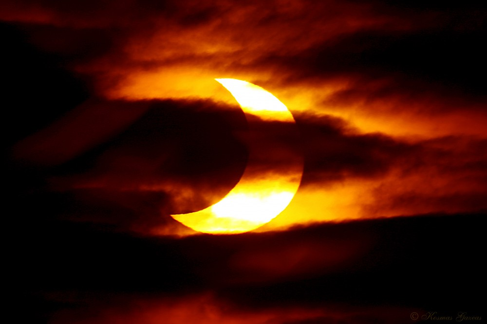 Delvis solformørkelse